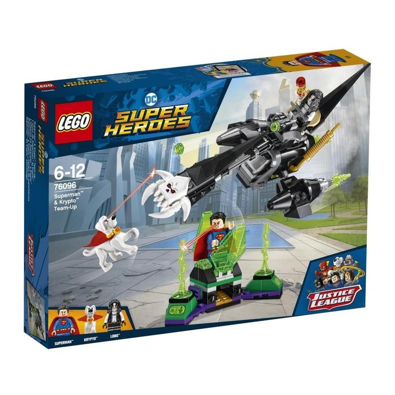 LEGO - Super Heroes 76096 Superman™ a Krypto™ sa spojili