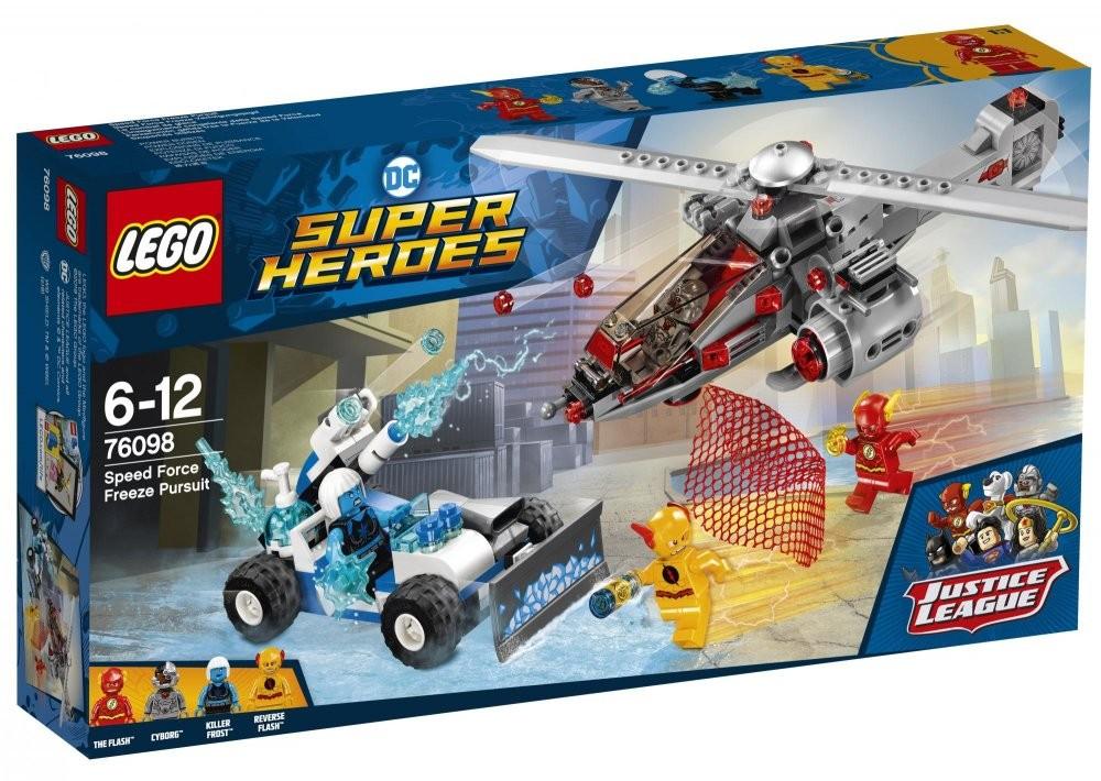 LEGO - Super Heroes 76098 Prenasledovanie Force Freeze