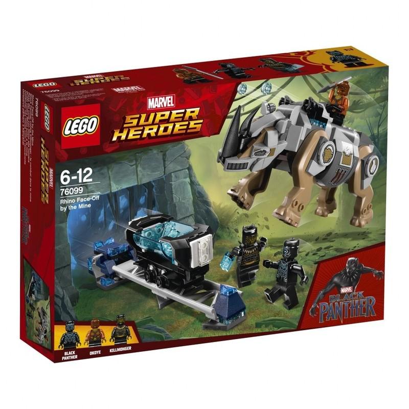 LEGO - Super Heroes 76099 Súboj Rhino vs. Mine