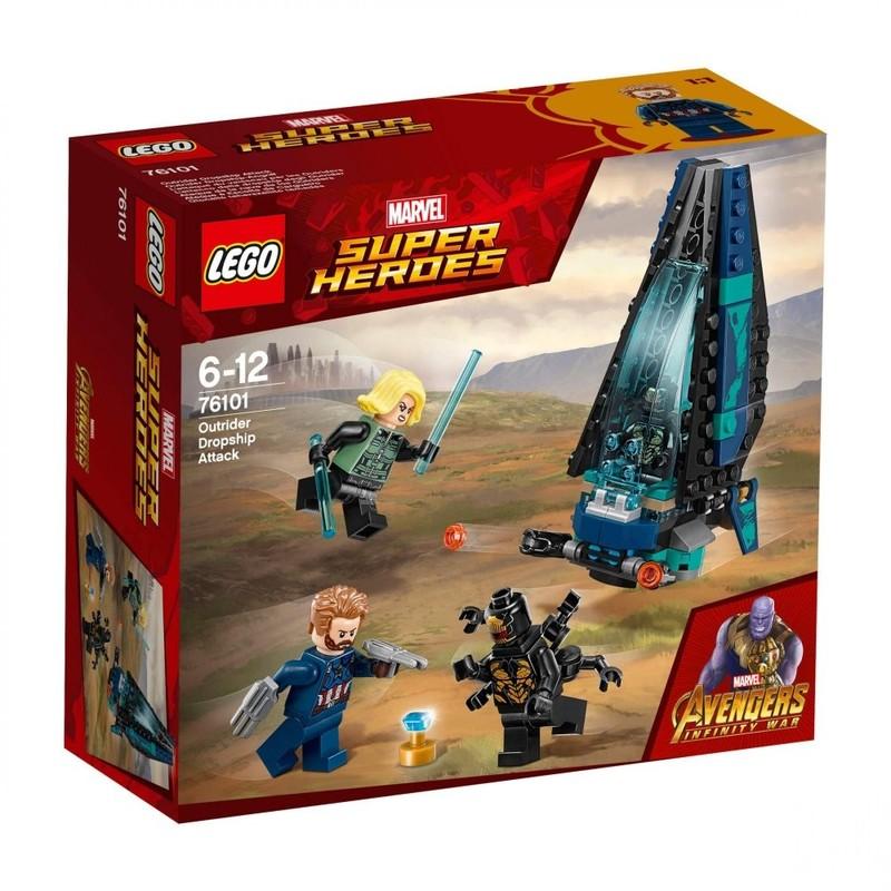LEGO - Super Heroes 76101 Útok vesmírnej lode Outrider