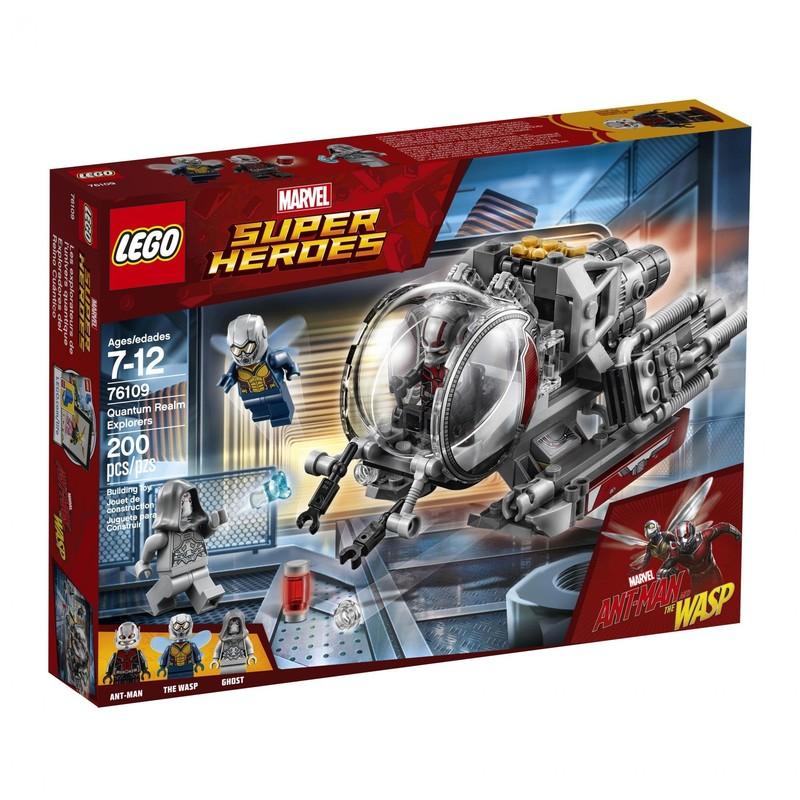 LEGO - Super Heroes 76109 Bádatelia v kvantovej sfére