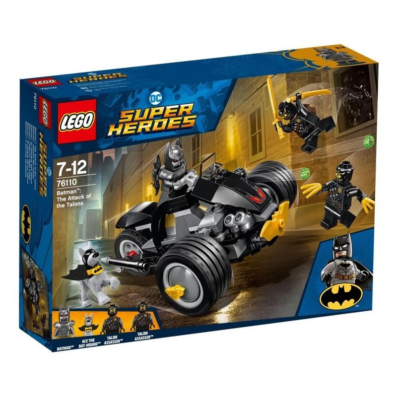 LEGO - Super Heroes 76110 Batman: Útok Talonov