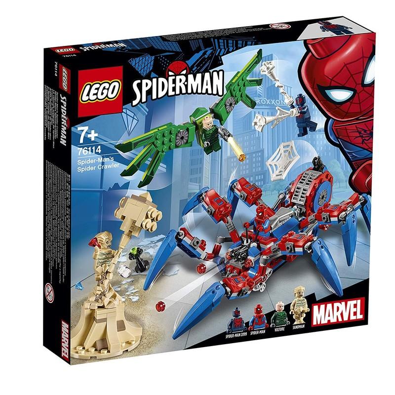 LEGO - Super Heroes 76114 Spider-Man a jeho Pavúkolez