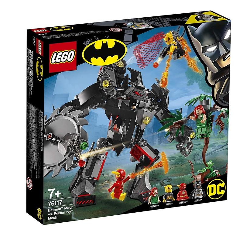 LEGO - Super Heroes 76117 Robot Batman™ vs. robot Poison Ivy™