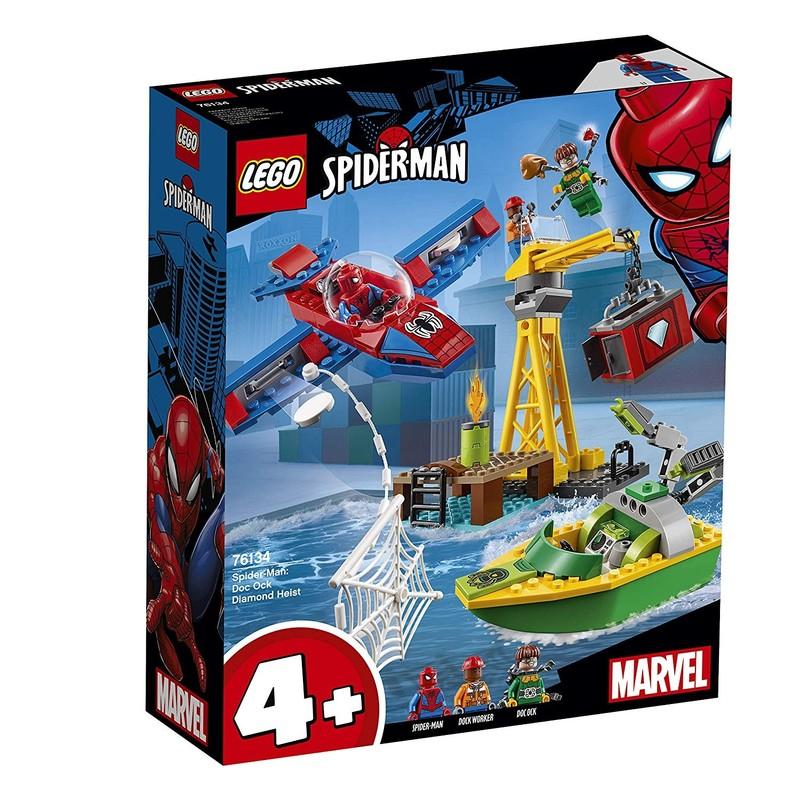 LEGO - Super Heroes 76134 Spider-Man: Doc Ock a krádež diamantov
