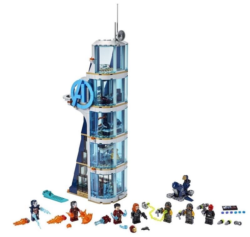 LEGO - Super Heroes 76166 Boj vo veži Avengerov