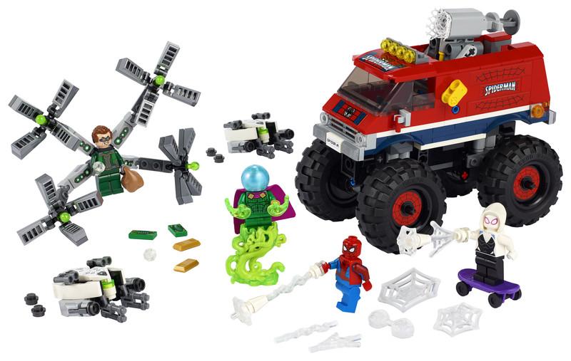 LEGO - Super Heroes 76174 Spider-Man v monster trucku vs. Mysterio