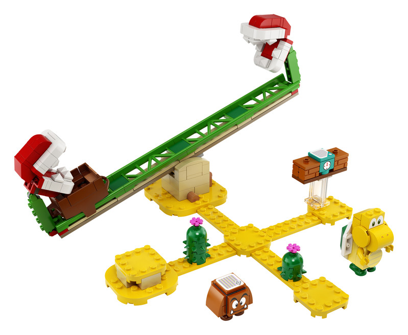 LEGO - Super Mario 71365 Pretekárska dráha s piraňami