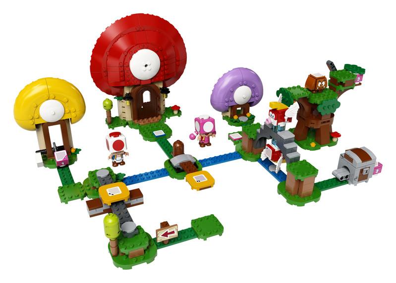 LEGO - Super Mario 71368 Toadov hon za pokladom