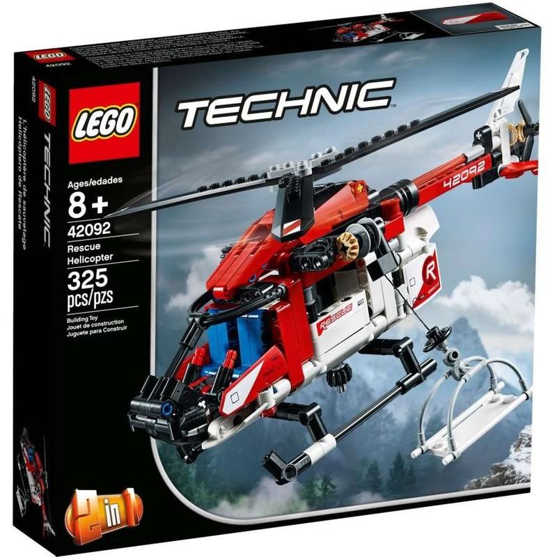 LEGO - Technic 42092 Záchranárska helikoptéra