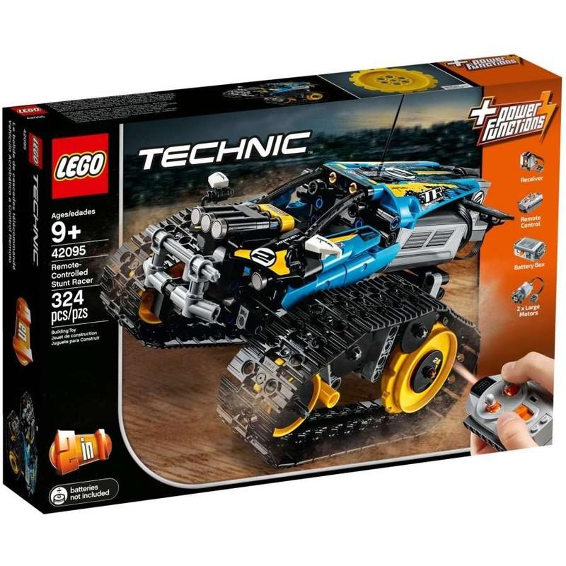 LEGO - Technic 42095 Kaskadérske pretekárske auto na diaľkové ovládanie