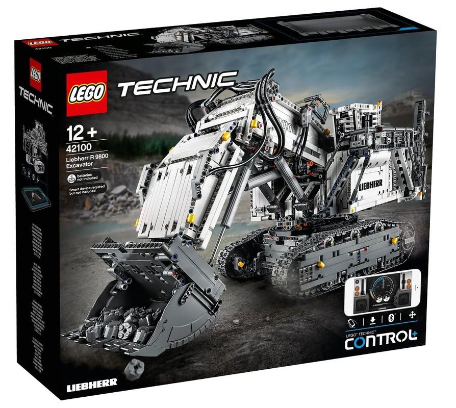 LEGO - Technic 42100 Bager Liebherr R 9800