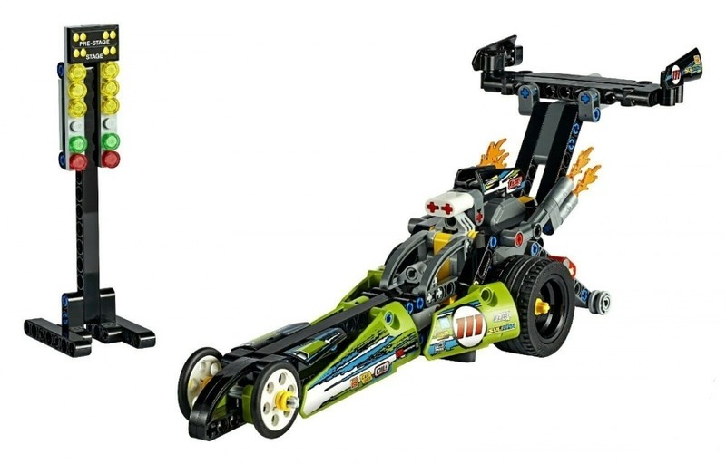 LEGO - Technic 42103 Dragster