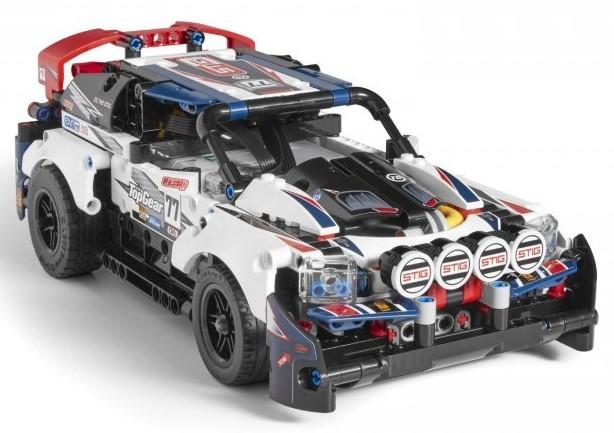 LEGO - Technic 42109 RC Top Gear pretekárske auto