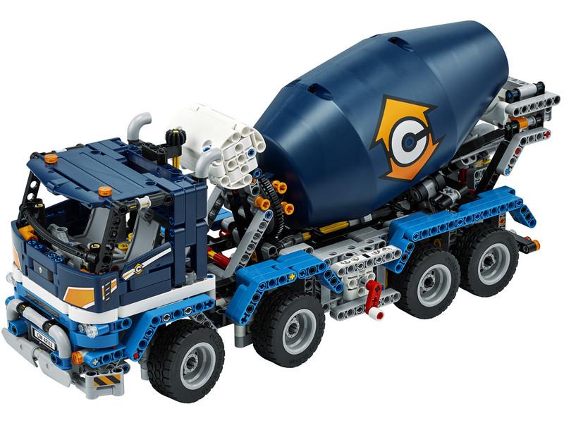LEGO - Technic 42112 Nákladiak s miešačkou na betón
