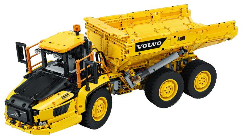LEGO - Technic 42114 Kĺbový nakladač Volvo 6 x 6