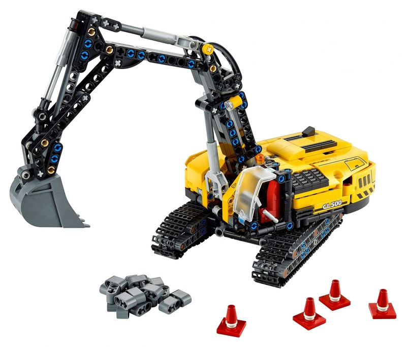 LEGO - Technic 42121 Pásový bager