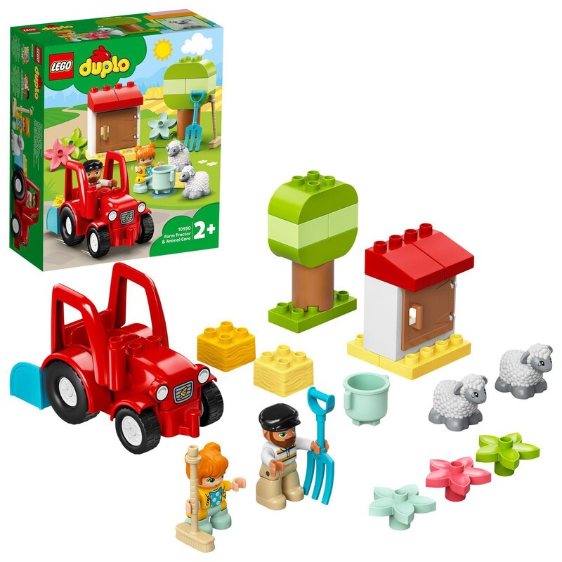LEGO - Traktor A Zvieratká Z Farmy