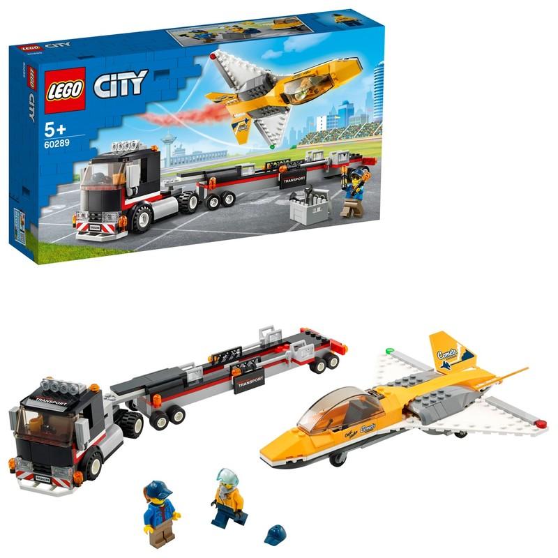LEGO - Transport akrobatickej stíhačky