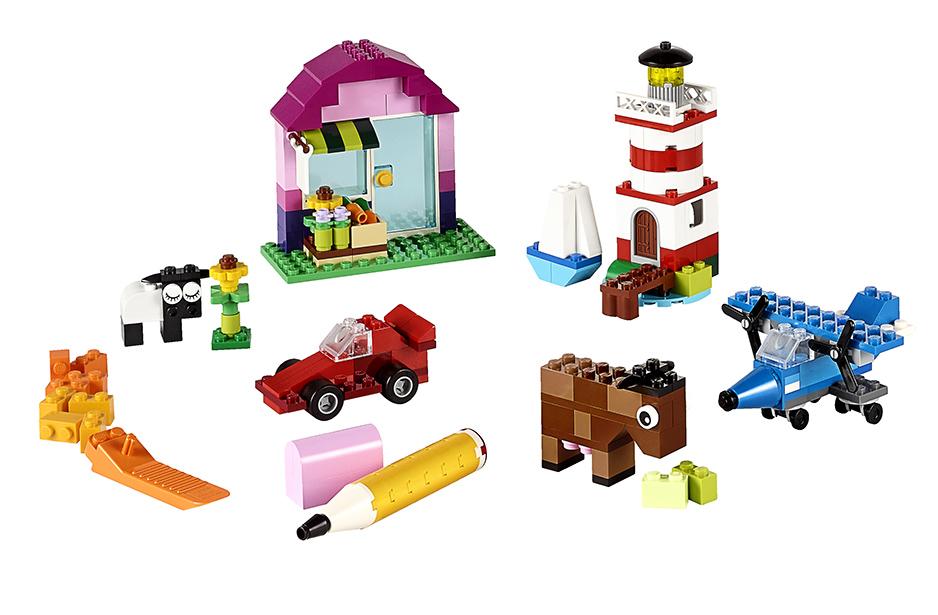 LEGO - Tvořivé kostky LEGO