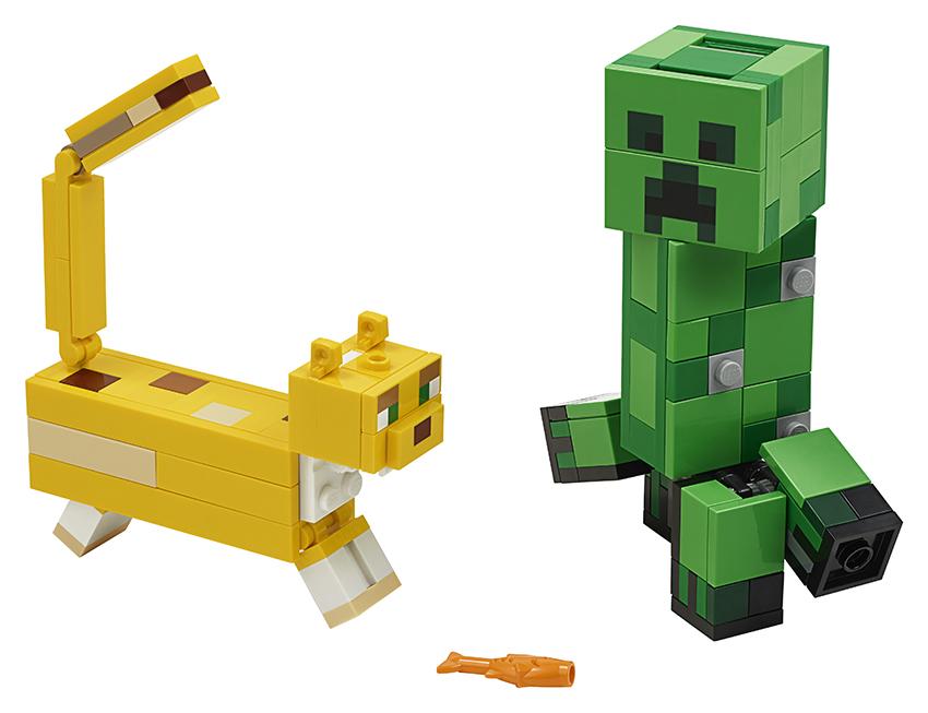 LEGO - Veľká Figúrka: Creeper A Ocelot
