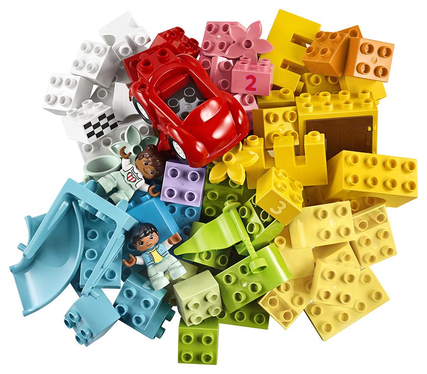 LEGO - Veľký Box S Kockami