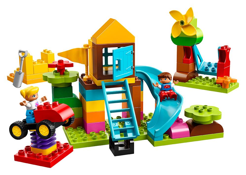 LEGO - Veľký Box S Kockami Na Ihrisko
