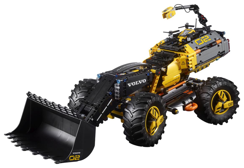 LEGO - Volvo koncepčný model kolesového nakladača ZEUX