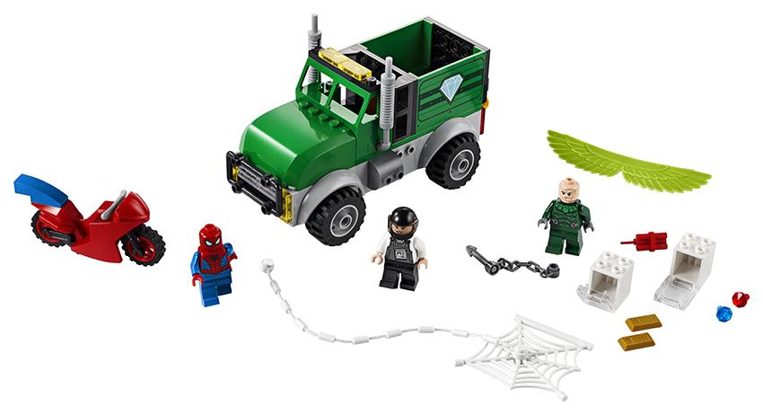 LEGO - Vulture A Prepadnutie Kamiónu