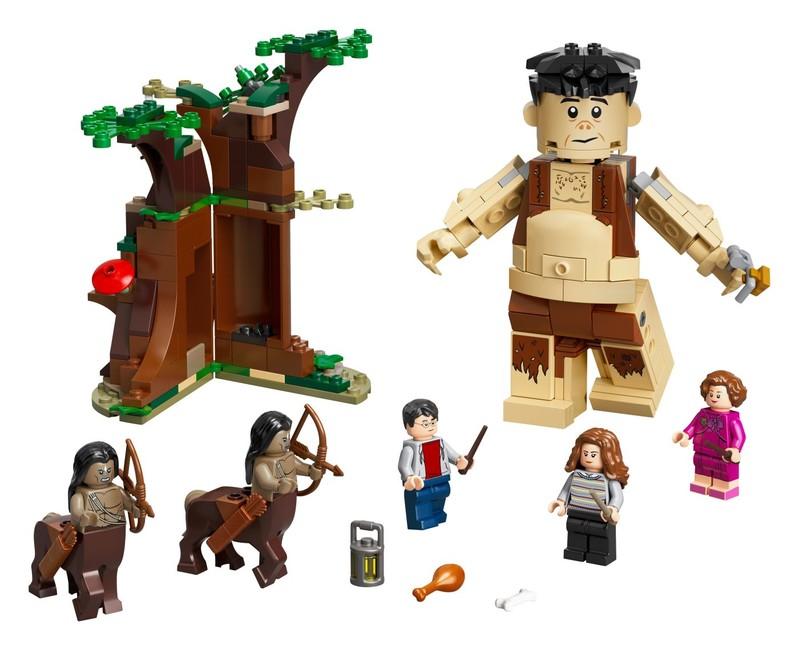 LEGO - Zakázaný les: Stretnutie Grawpa s profesorkou Umbridgeovou