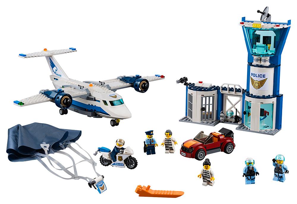 LEGO - Základňa Leteckej Polície