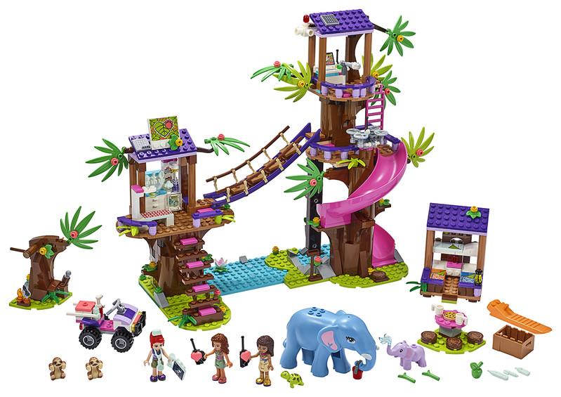 LEGO - Základňa záchranárov v džungli