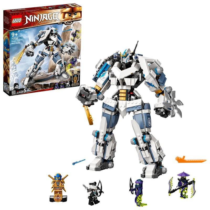 LEGO - Zaneova bitka s titanskými robotmi