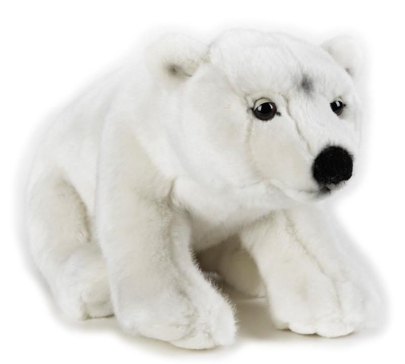 LELLY - National Geografic Polárne zvieratká 770723 Biely medveď - 35 cm