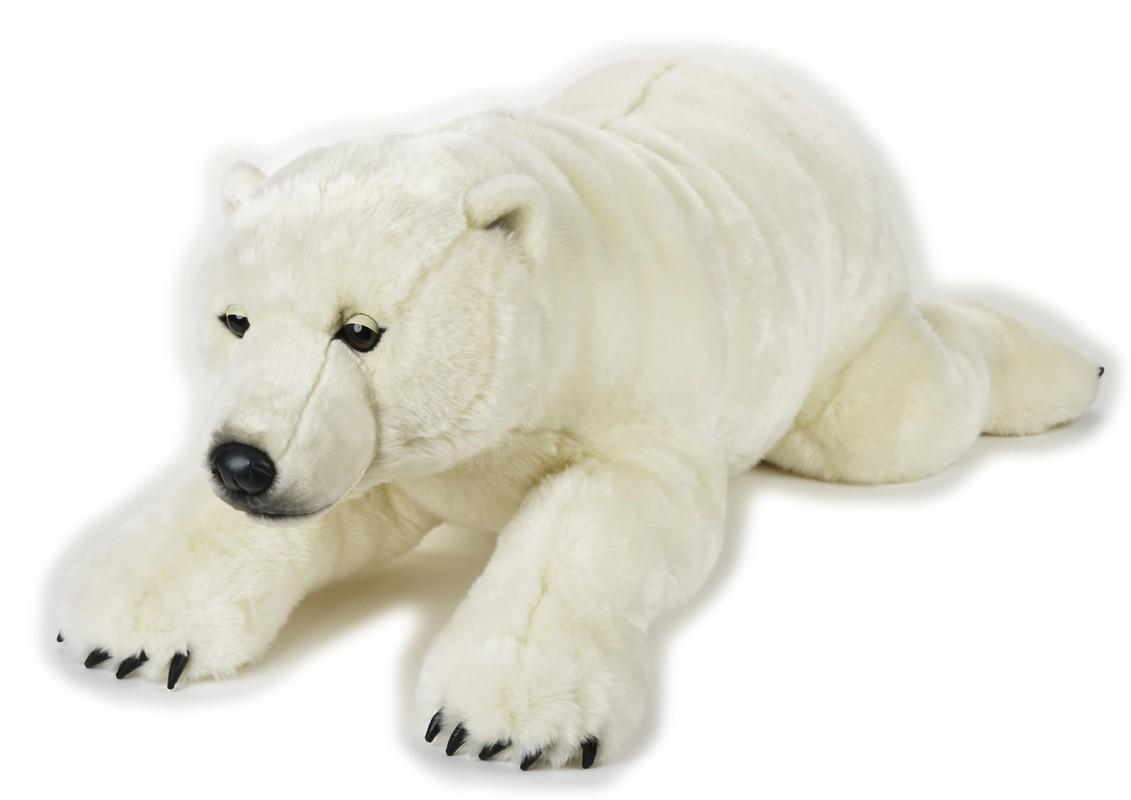 LELLY - National Geografic Polárne zvieratká 770807 Biely medveď - 118 cm