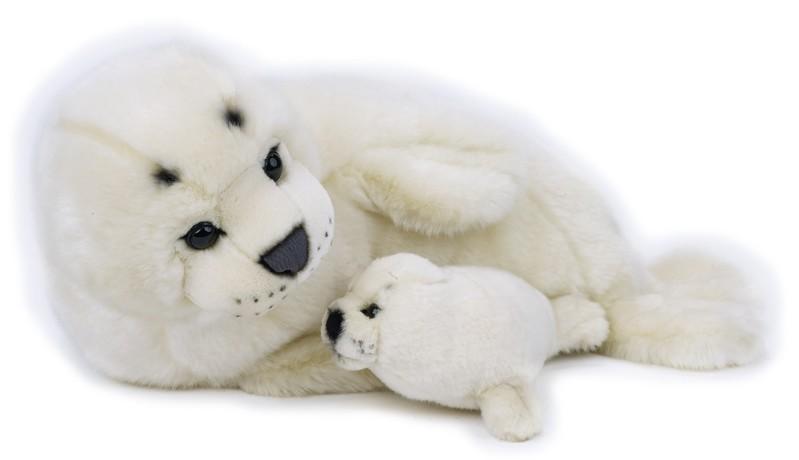 LELLY - National Geografic Polárne zvieratká 770820 Tuleň s bábätkom - 42 cm