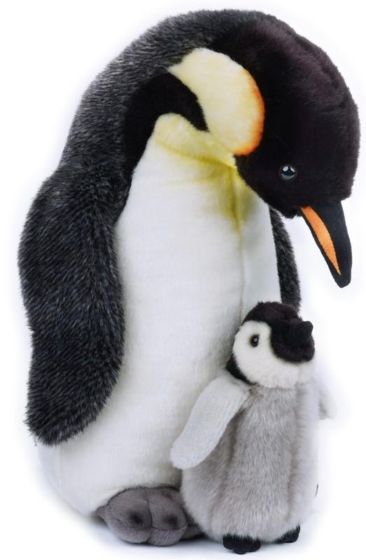 LELLY - National Geografic Polárne zvieratká 770821 Tučniak s mláďatkom - 35 cm
