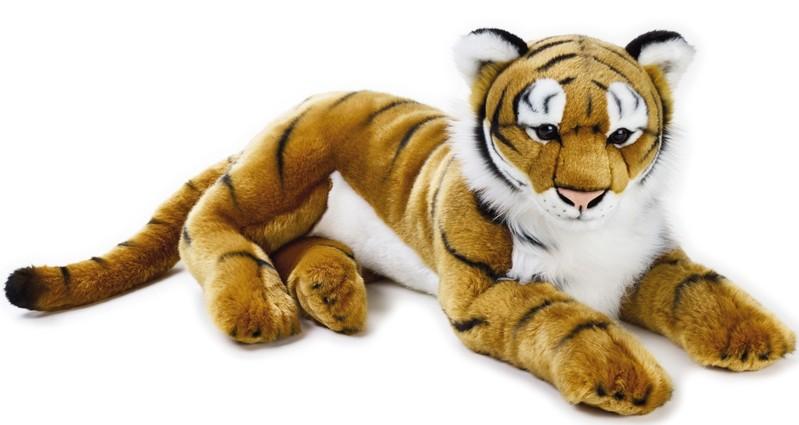 LELLY - National Geografic Veľké mačkovité šelmy 770746 Tiger - 65 cm