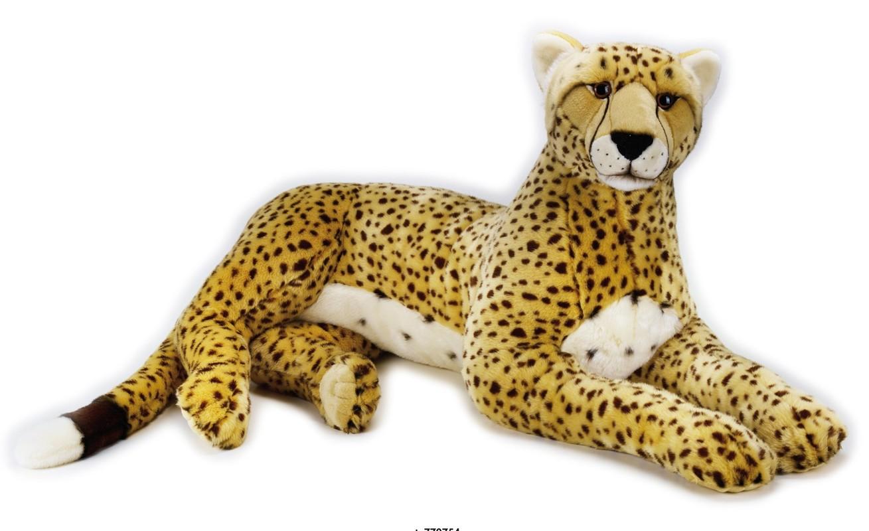 LELLY - National Geografic Veľké mačkovité šelmy 770754 Gepard - 105 cm