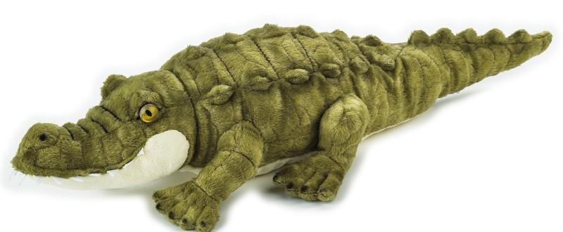 LELLY - National Geografic Základná kolekcia zvieratiek 770841 Krokodíl - 40 cm