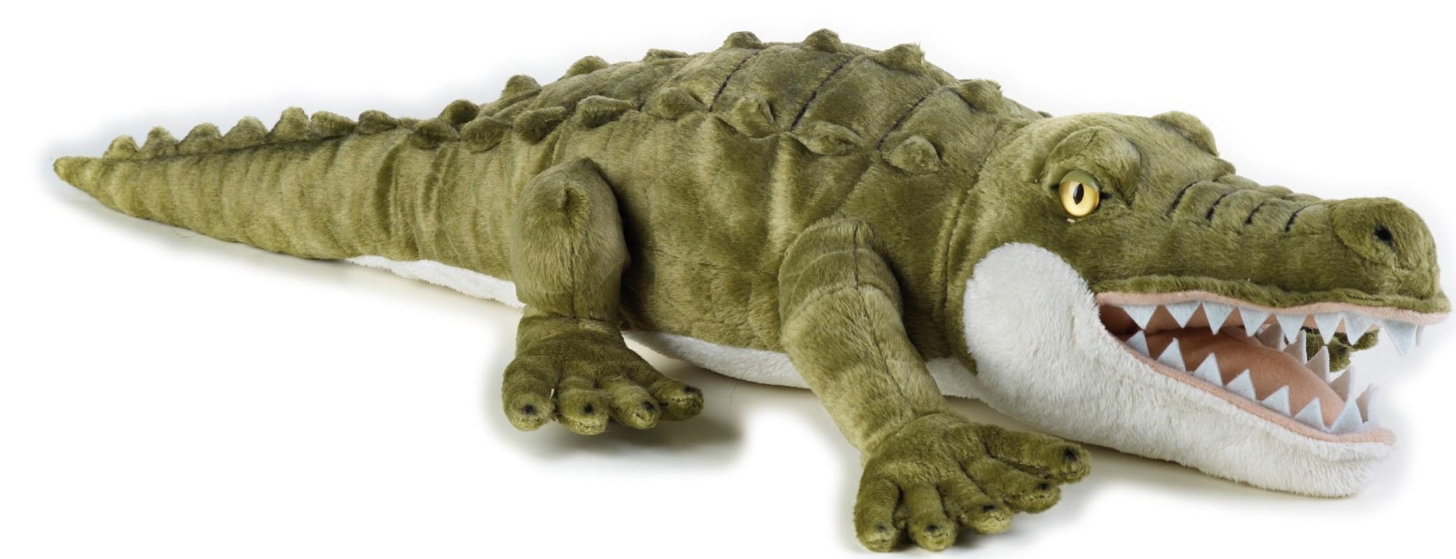 LELLY - National Geografic Zvieratká zo savany 770719 Krokodíl - 50 cm