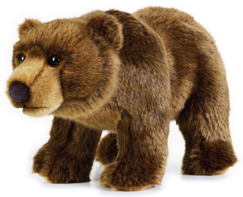 LELLY - National Geografic Zvieratká zo Severnej Ameriky 770740 Medveď Grizly - 30 cm