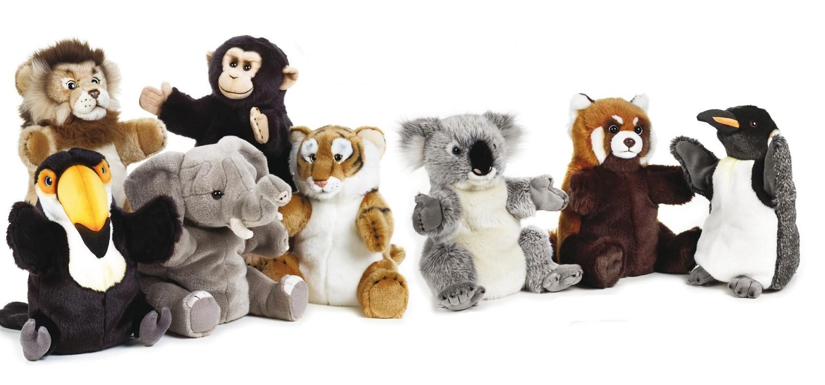 LELLY - National Geographic Zvieratká maňušky assort 770778 - 26 cm