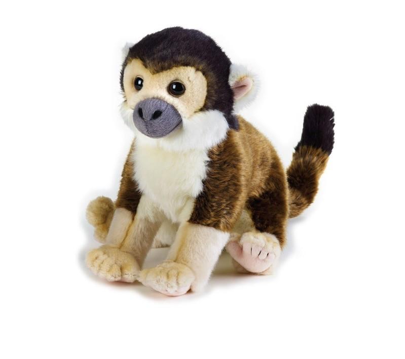 LELLY - National Geographic Zvieratká z dažďového pralesa 770711 Saimiri vevericovitý - 25 cm