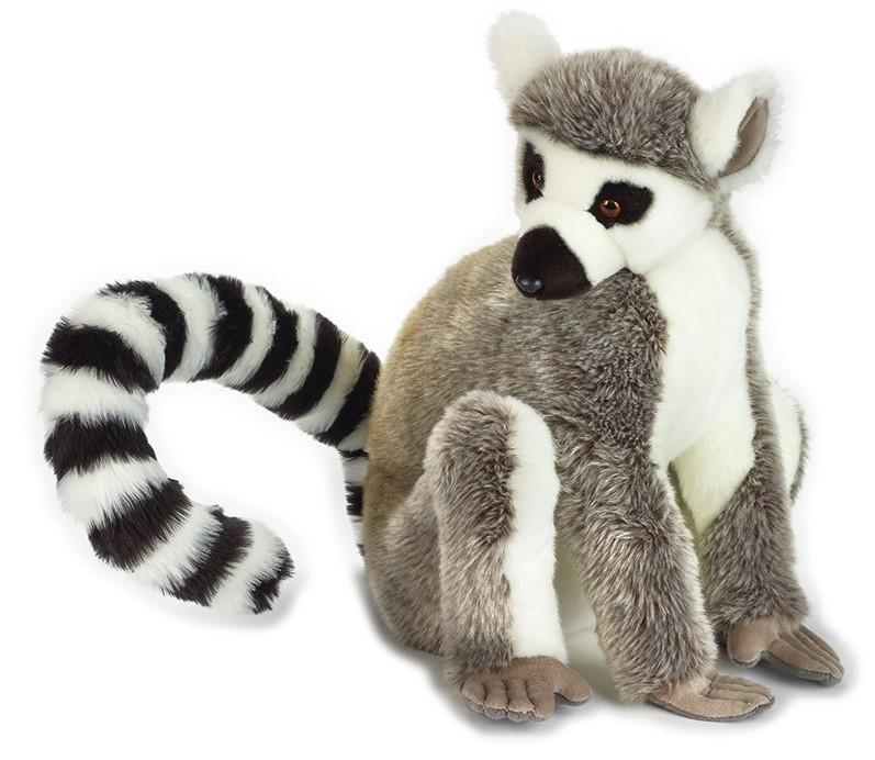 LELLY - National Geographic Zvieratká z dažďového pralesa Lemúr 50 cm