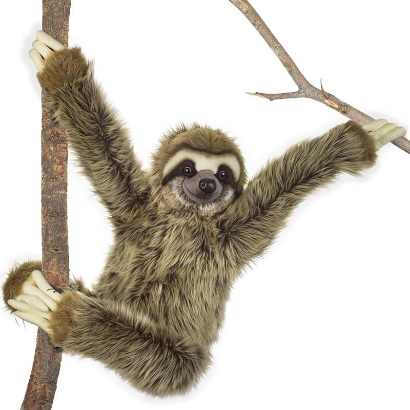 LELLY - National Geographic Zvieratká z dažďového pralesa Leňochod obrovský 80 cm