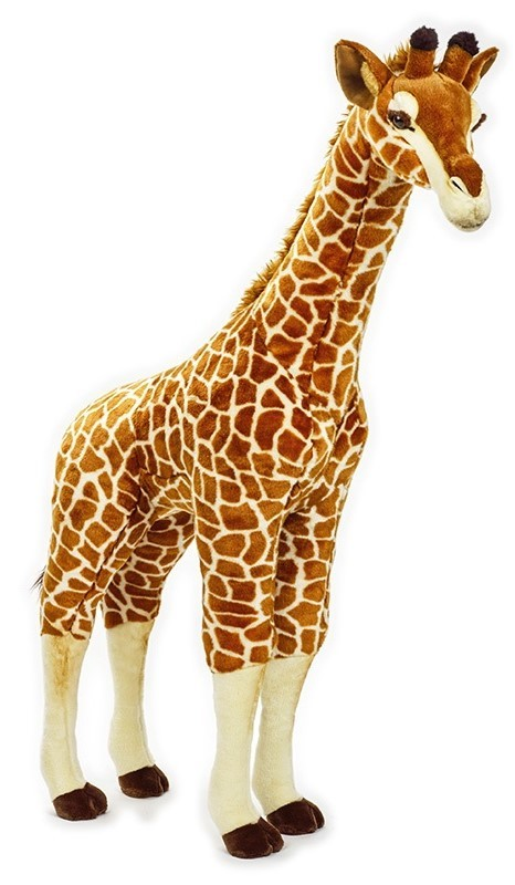 LELLY - National Geographic Zvieratká zo savany Žirafa 100 cm
