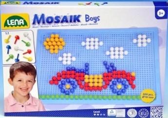 LENA - Detská mozaika veľká pre chlapcov 35612