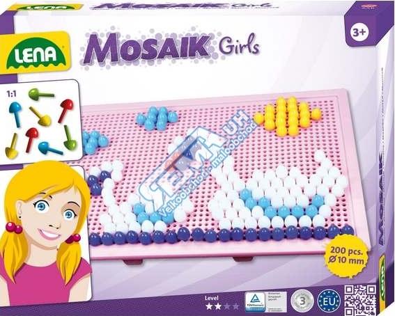 LENA - Detská mozaika veľká pre dievčatá 35611