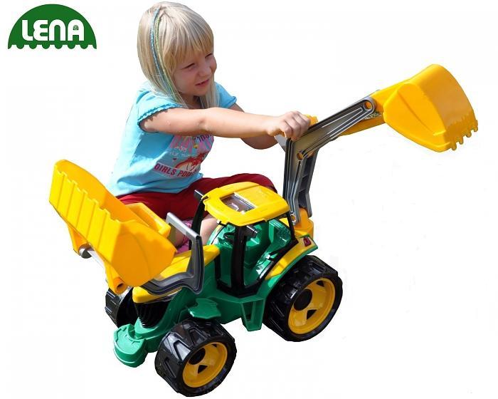 LENA - Traktor s lyžicou a bagrom